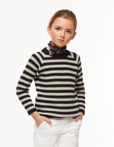 Black and grey striped jumper - The Summer Denim - Nícoli