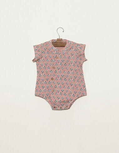 Strawberry buti crossover romper - View all > - Nícoli