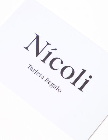 Gift card - GIFT CARD - Nícoli