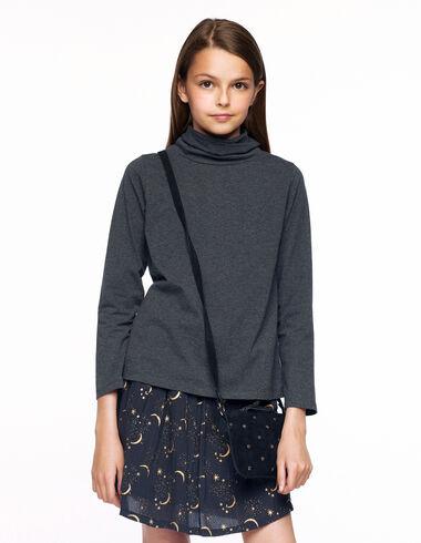 Anthracite moon skirt.  - Skirts for girls! - Nícoli