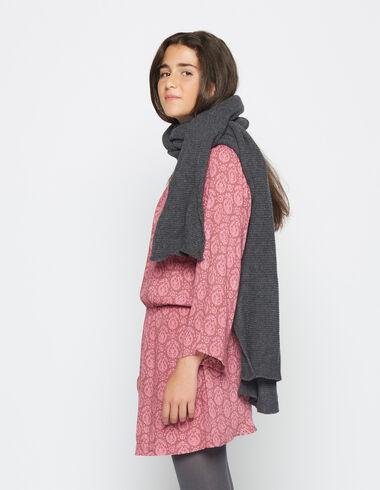 Robe froncée paisley fraise pour petites filles - Voit tout > - Nícoli