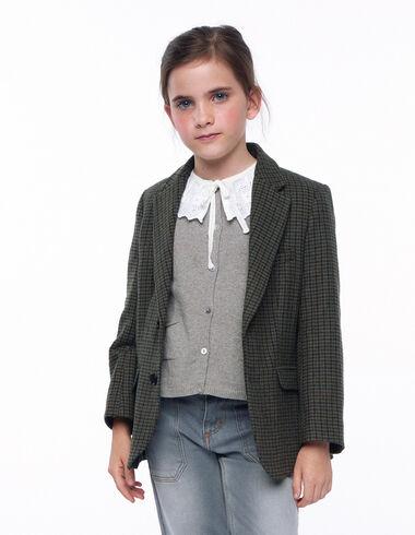 Blazer tweed verde - Blazers - Nícoli