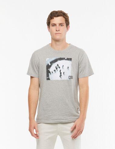 Grey 'Paris' t-shirt - View all > - Nícoli