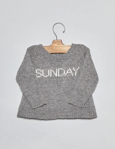 Jersey bebé sunday gris - Ver todo > - Nícoli
