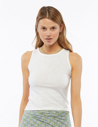 White tank top - View all > - Nícoli