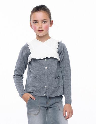 Ecru crossover collar - Collars - Nícoli