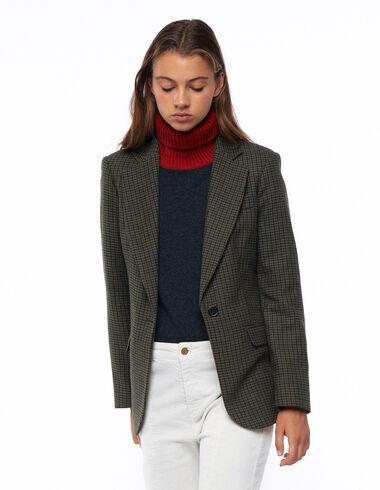 Blazer tweed vert - Voir tout > - Nícoli