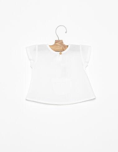 Camisa bolsillo blanca - Ver todo > - Nícoli