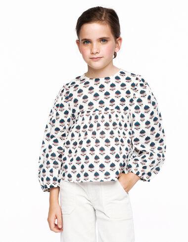 Camisa lazo buti bicolor cruda - Ver todo > - Nícoli