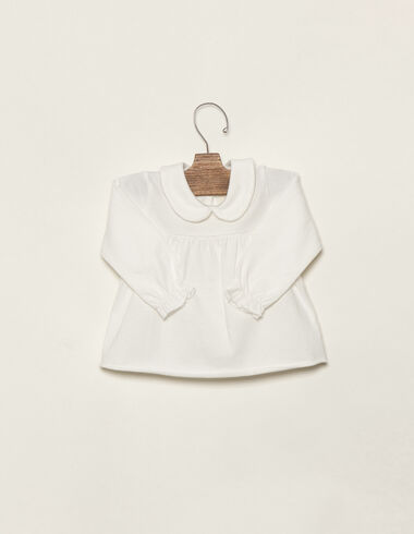Off-white baby top  - Clothing - Nícoli