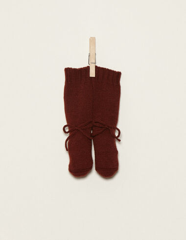 Terracotta bootees - Bootees - Nícoli