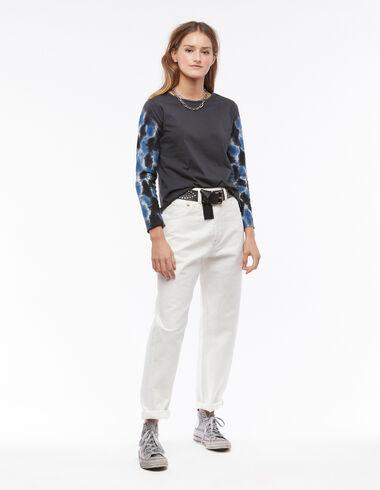 Pantalon baggy coutures écru - Vêtements - Nícoli
