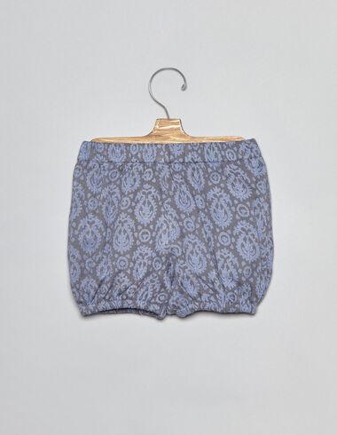 Bloomer paisley bleu pour bébés - Voir tout > - Nícoli
