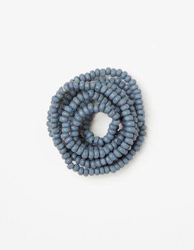 Collar niña bolitas azul - Collares - Nícoli