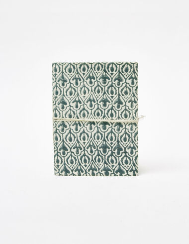 Cuaderno indian print verde - Ver todo > - Nícoli