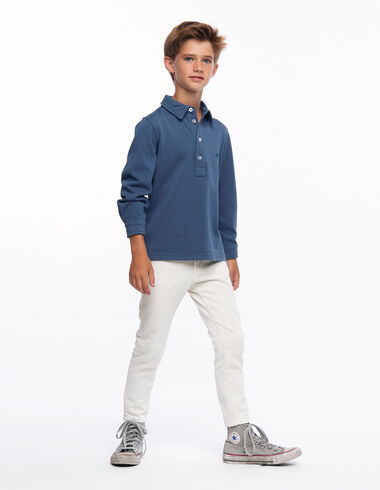 Ecru 5-pocket trousers - Rainy Days - Nícoli
