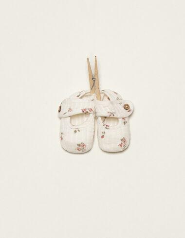 Zapatos print flor rosa - Zapatos - Nícoli