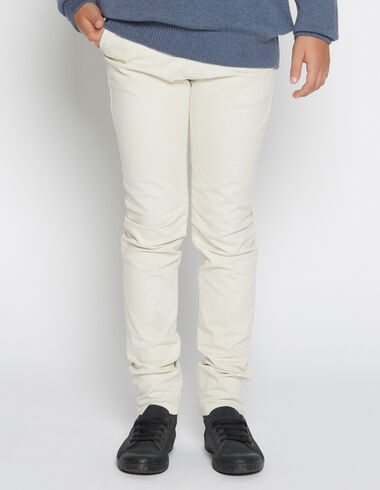 Boy's natural chinos - View all > - Nícoli