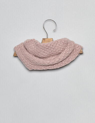 Pink baby snood - View all > - Nícoli