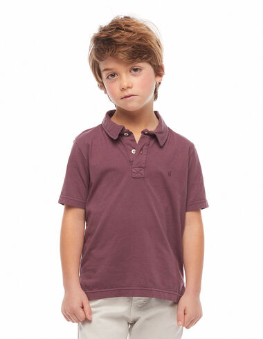 Maroon polo shirt - View all > - Nícoli