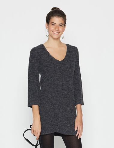 Robe anthracite point jersey pour filles - Voir tout > - Nícoli