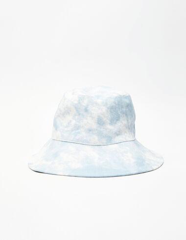 Bonnet fille tie-dye bleu  - Swimwear Collection - Nícoli