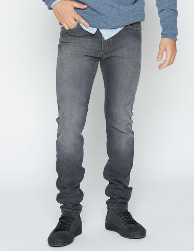 Boy's grey skinny jeans - View all > - Nícoli