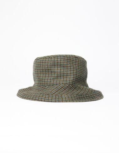 Green tweed girl's hat - Rainy Days - Nícoli