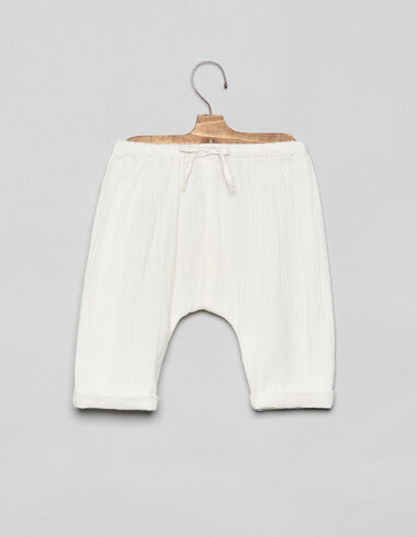 Off-white long baby bloomers - Bloomers - Nícoli