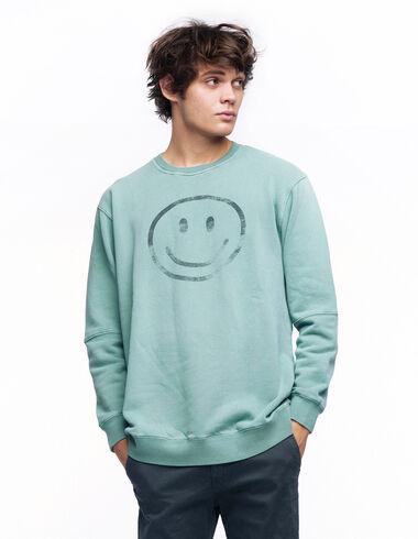 Sweat-shirt smile vert - Voir tout > - Nícoli