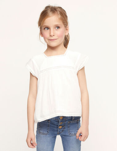 White top with pintucks - Spring Favourite Selection - Nícoli