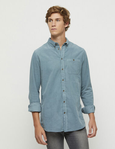 Camisa pana verde - New in - Nícoli