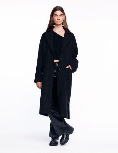 Manteau long noir - Voir tout > - Nícoli