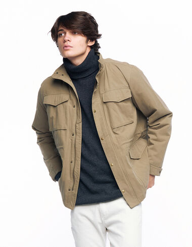 Green jacket with pockets - Jacket - Nícoli