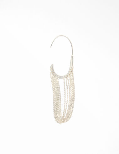 Silver chain ear cuff - View all > - Nícoli