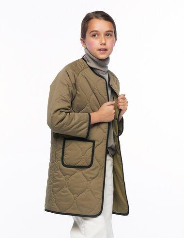 Abrigo guateado verde - Ver todo > - Nícoli