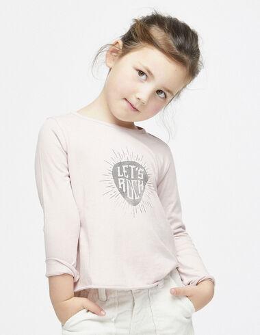 """Pink """"rock"""" charity t-shirt - T-shirts - Nícoli"""