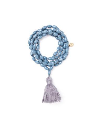 Blue pompom necklace - View all > - Nícoli