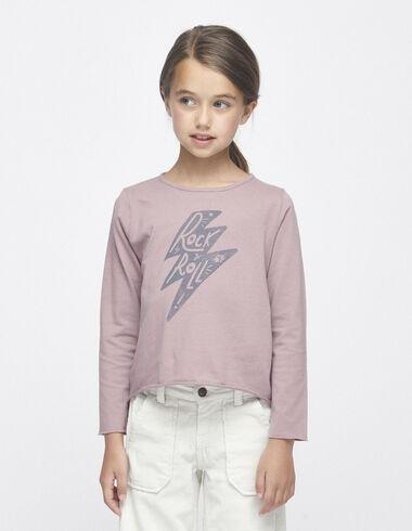 """Berry """"light storm"""" charity t-shirt - T-shirts - Nícoli"""