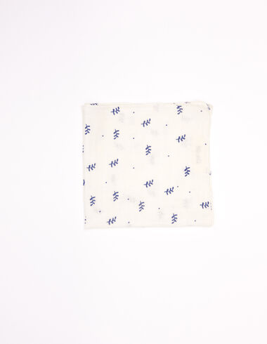 Blue twigs scarf - View all > - Nícoli