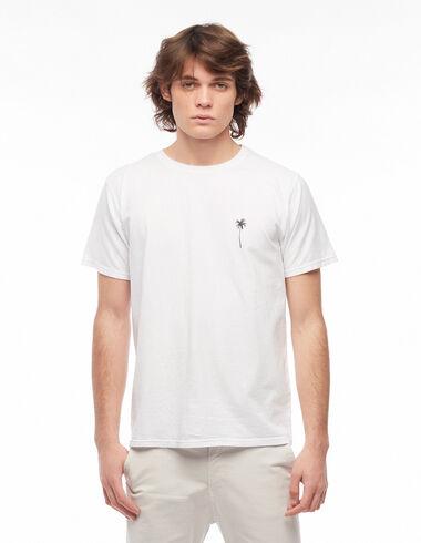 Camiseta palmera blanca - Ver todo > - Nícoli