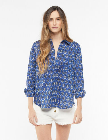Anthracite buti shirt - Blouses and Tops - Nícoli