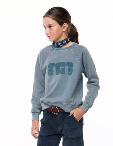 Sweat-shirt « N » anthracite - Voir tout > - Nícoli