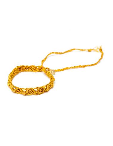 Bracelet fil moutarde - Voir tout > - Nícoli