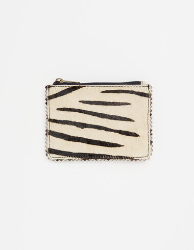 Ecru zebra coin purse - View all > - Nícoli
