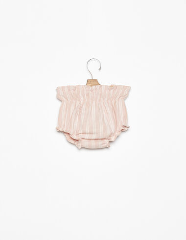 Pink stripe bloomers - View all > - Nícoli