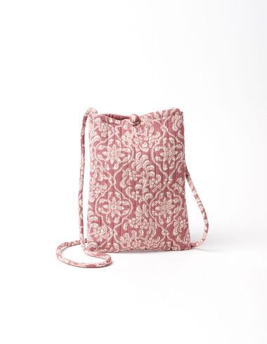 Strawberry flowers shoulder bag - View all > - Nícoli