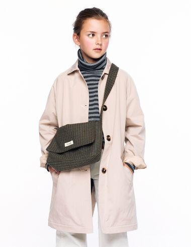 Long beige trench coat - Rainy Days - Nícoli
