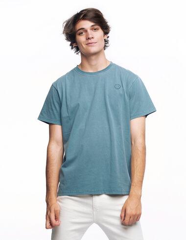 Light blue smile T-shirt - T-Shirts - Nícoli