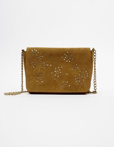 Green circle studs flap bag  - View all > - Nícoli